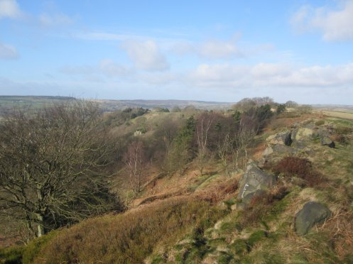 View from Ashover Rock