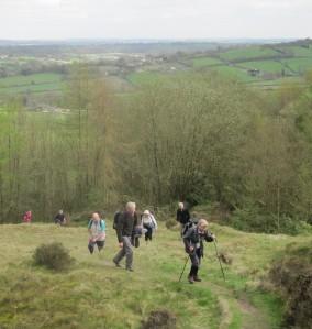 A climb near Ashover