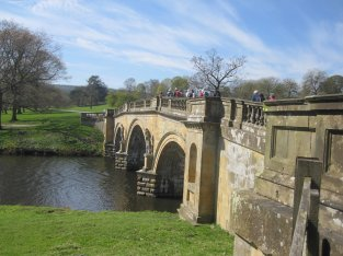 The Chatsworth bridge
