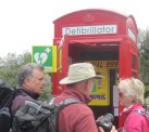 Whoever said the red phone box was obsolete ?