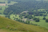 Ilam Hall from Bunster Hill