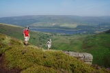 Mike & Gavin at the Pennine Way