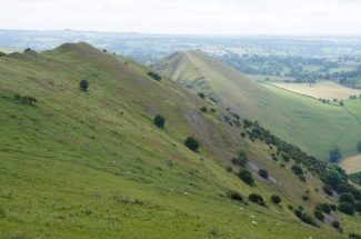 Thorpe Cloud from Bunster Hill