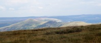 Mam Tor ridge from Brown Knoll