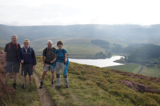 Above Kinder Reservoir