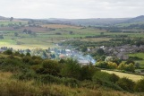 Day 1 - overlooking Rothbury