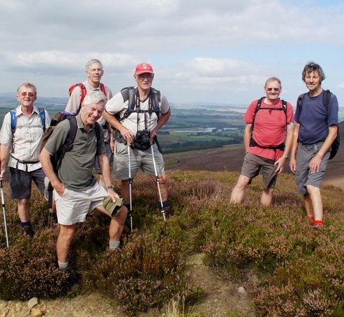 Day 2 - on Whitefield Hill