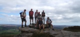Day 2 - the group on Dove Crag