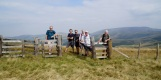 Day 3 - on the Scottish border fence