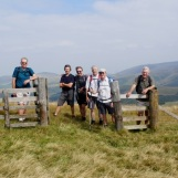 Day 3 - on the Scottish border fence