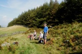 Day 4 - lunch in the Coquet Valley