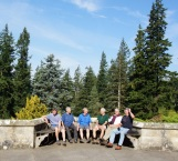 Day 5 - the gang at Cragside