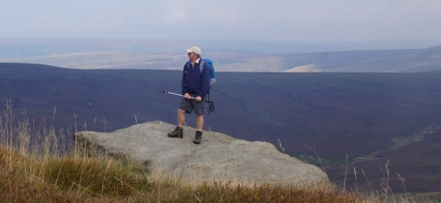 John on Kinder North Edge