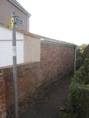 Hasland Green entrance