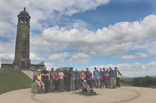 The group at Crich