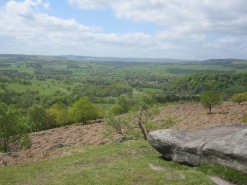 Chatsworth from Gardoms Edge