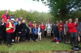 Cheerful faces for people walking 34 miles. An ambitious 'selfie' perhaps ? (Click to enlarge)