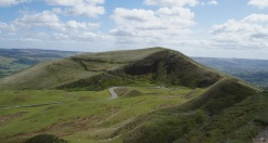 Mam Tor from Rushup Edge