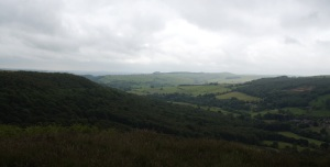 Stormy skies over the Hope Valley