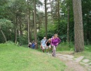 Ascending from North Lees Hall