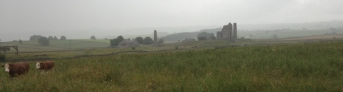 A damp view of the Magpie Mine