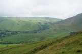 The front of Mam Tor, showing the landslip