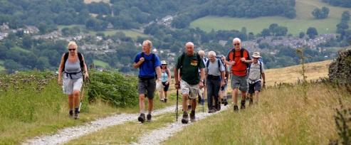 Ascending Offerton Moor