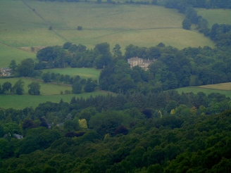 Stoke Hall from Curbar Edge