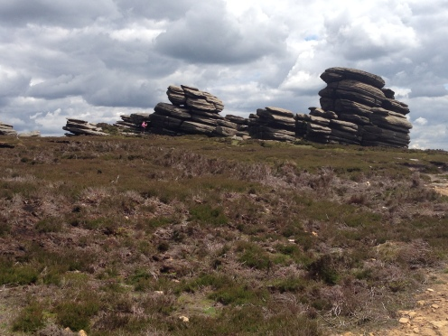 The Wheel Stones - Derwent Edge