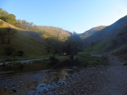 Dovedale before the crowds arrive