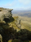 Kinder Edge towards Bleaklow
