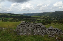 Looking towards Froggatt from Calver Peak