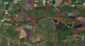 Derbyshire PROWs (Bing)