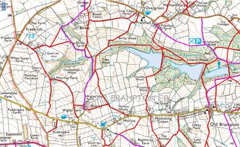 Derbyshire PROWs (Ordnance Survey)