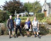 Gordon, Mike, Diane, and John H at Wetton