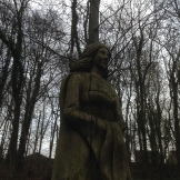 Westwood carving - a bit eerie in the gloom