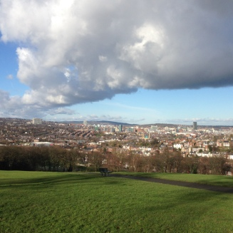 Sheffield from Meersbrook Park (after JMW Turner)