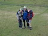 Diane, John N, and Margaret at Deep Dale