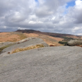 A coffee stop on the Burbage Rocks