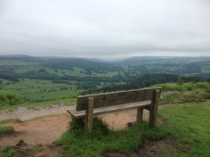Chatsworth from near the Wellington Monument on Baslow Edge