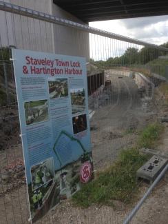 Staveley Town Lock