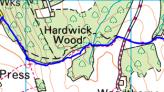 Ordnance Survey route