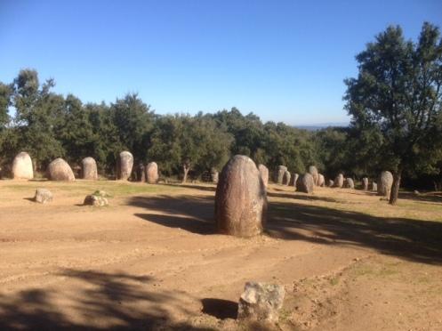 Almendres Cromlech, Alentejo, Portugal