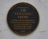 A notable Brimington plaque