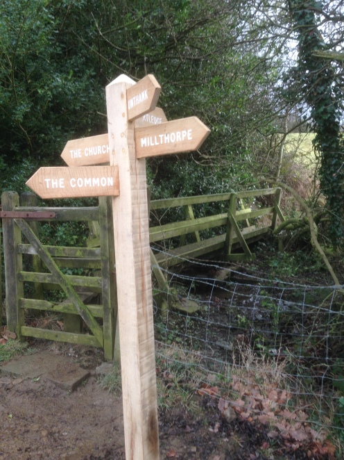 If signposts had a quality classification, this one would do quite well