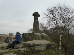 Wellington Monument on Baslow Edge