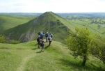 Looking over to Thorpe Cloud from edge of Bunster Hill
