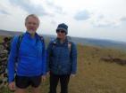 David and Lorraine at Shining Tor