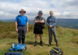 Nigel, John N, and Paul at the Gun