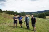 Nigel, John, Doug & Simon at Calton Houses